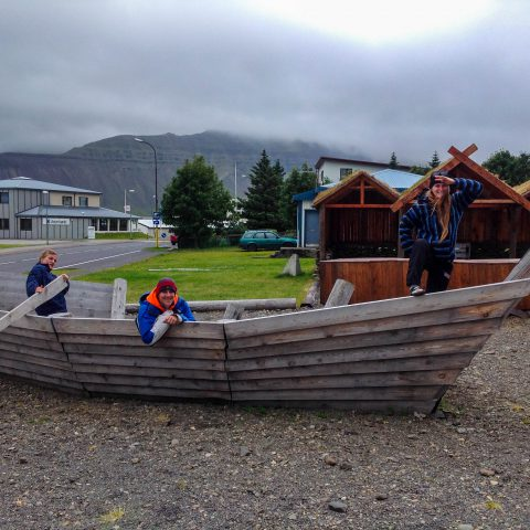 Vikings in the Wooden Ship