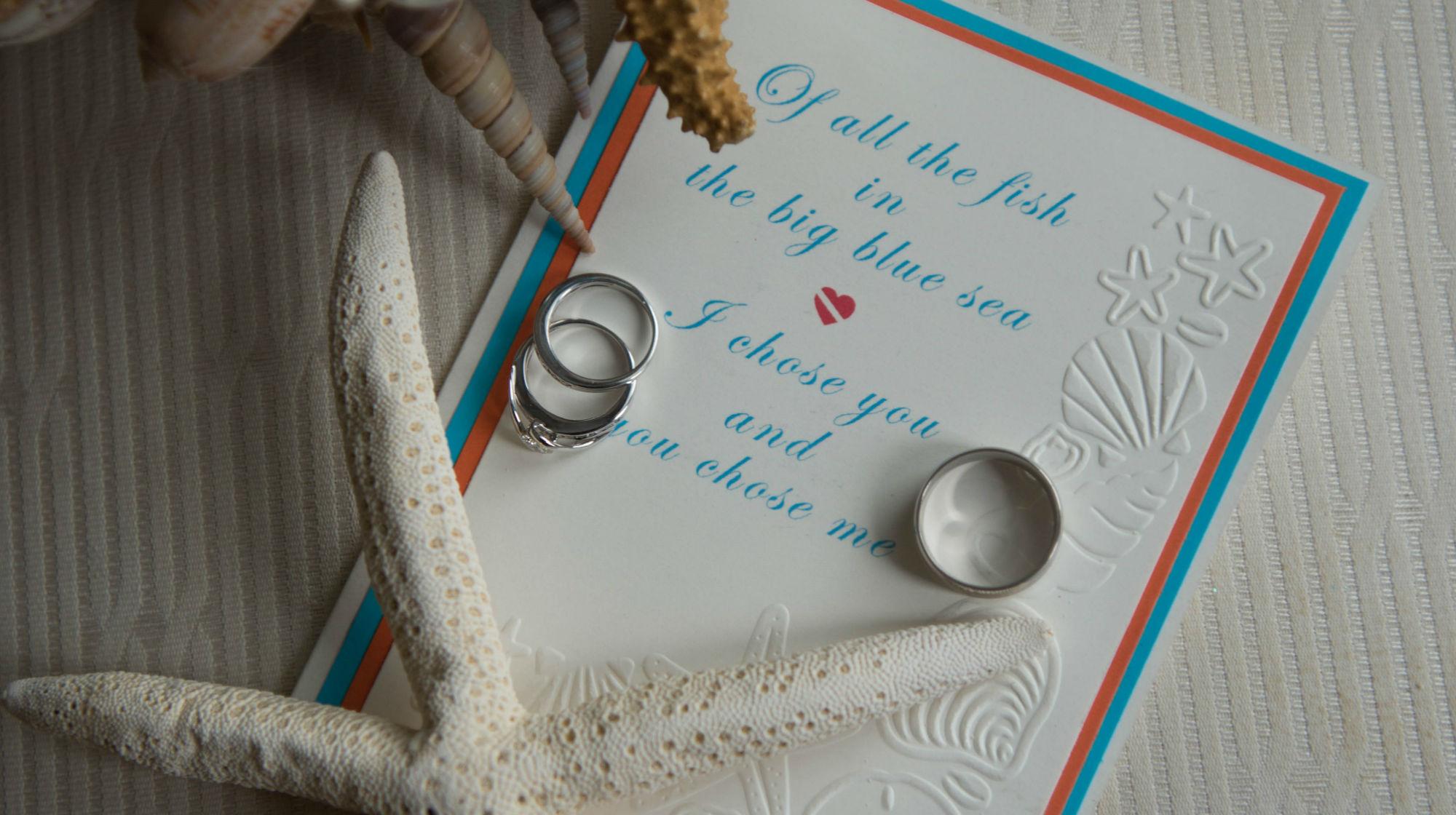 Scuba Wedding Invitation