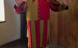 Joey Dressed as a Joker