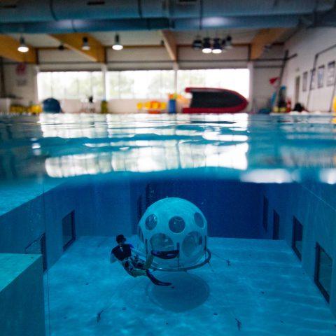 Joey Free diving In The Nemo Pool In Belgium
