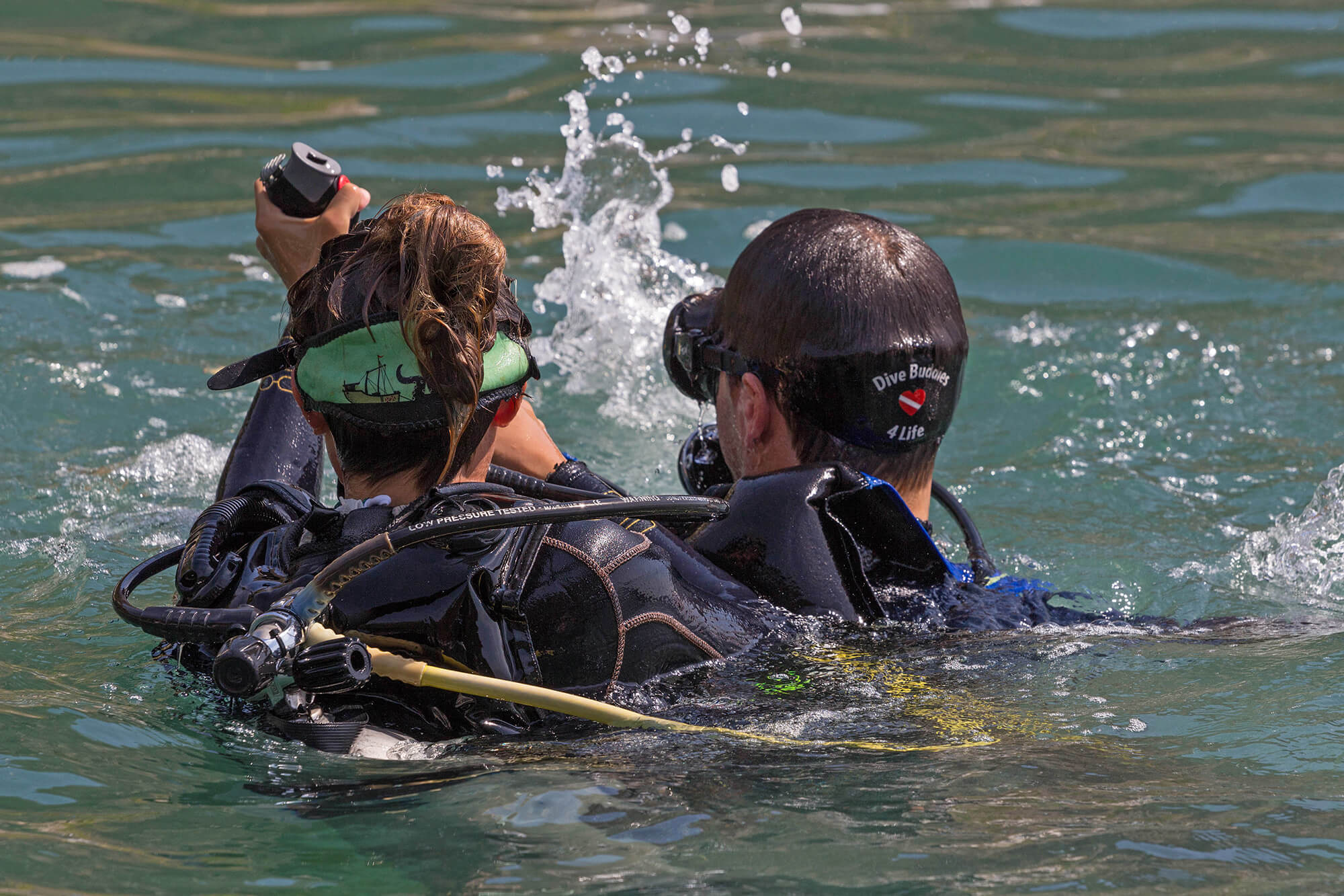 Joey Getting Rescued During The PADI Rescue Diver Course In Mexico