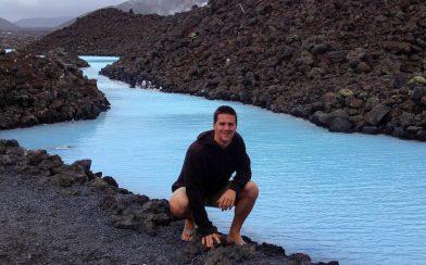 Joey Near the Blue Lagoon River