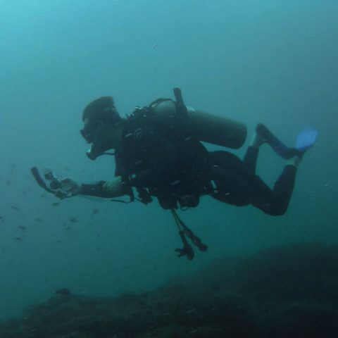 Joey Scuba Diving and Taking some Video's