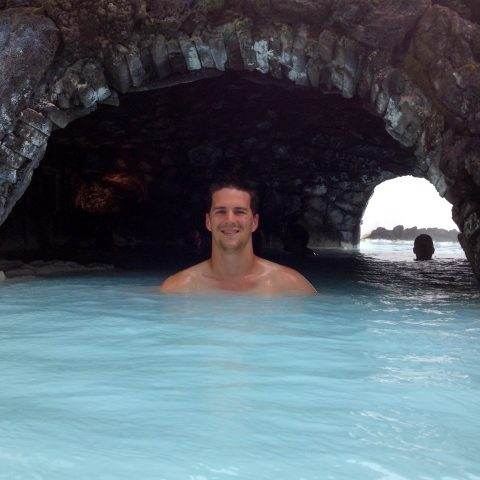 Joey in the Lagoon Cave
