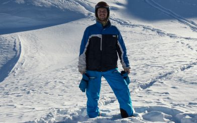 Joey On The Flaine Mountains