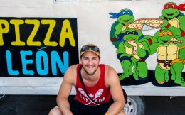 Joey with the Pizza Truck