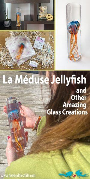 La Meduse Glass Jellyfish Pinterest