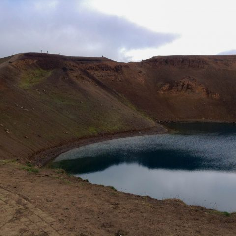Lake and the Crater Trail