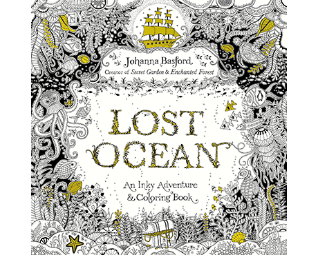 Lost Ocean Adult Colouring Book Dive Buddies Product