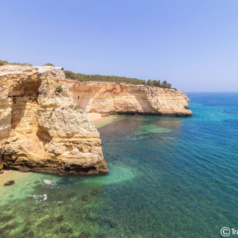 The Portuguese Algarve Beaches in the Summer