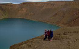Mom, Dad and Ali near the Lake