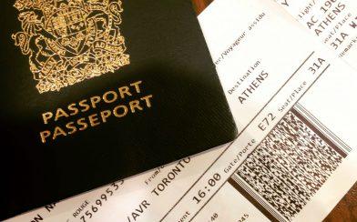 Nadine Ticket and Passport