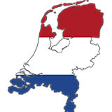 Netherlands Country Flag And Shape