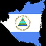 Nicaragua Country Flag And Shape