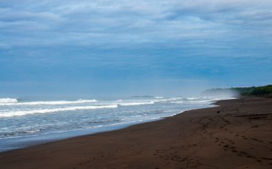 Ostional Beach Waves