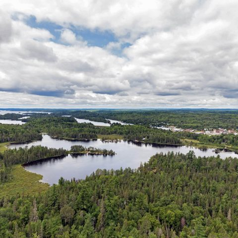 Overlooking The Lake Temagami Skyline Preserve While Preparing To Scuba Diving Finlayson Point Provincial Park, Ontario, Scuba Diving Canada