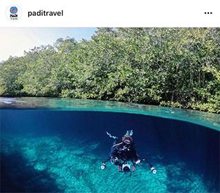PADI Travel Instagram Feature
