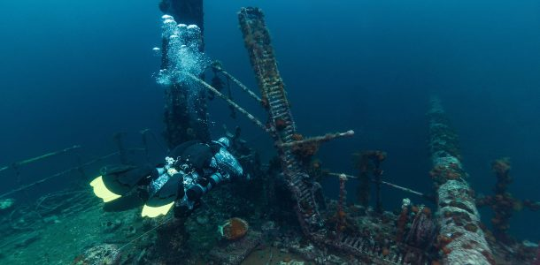 PADI Wreck Diver Course On The Shipwrecks Of Bell Island, Newfoundland, Scuba Diving Canada