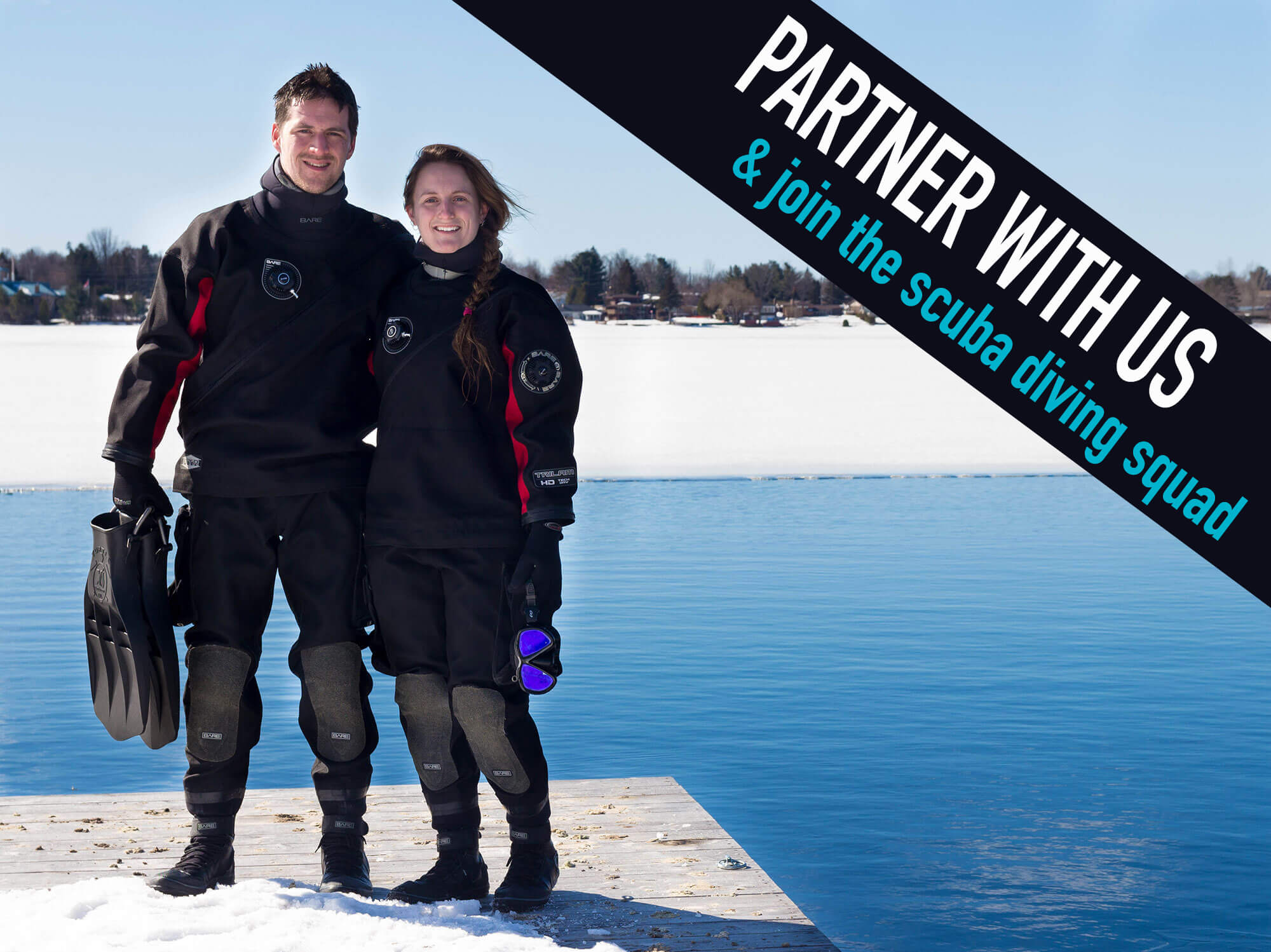 Partner With Us And Join The Scuba Diving Squad