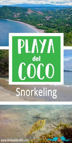 Playa Del Coco Snorkeling Pinterest