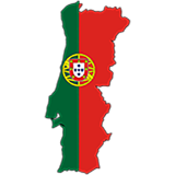 Portugal Country Flag And Shape