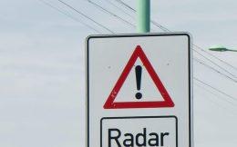 Road Radar Sign