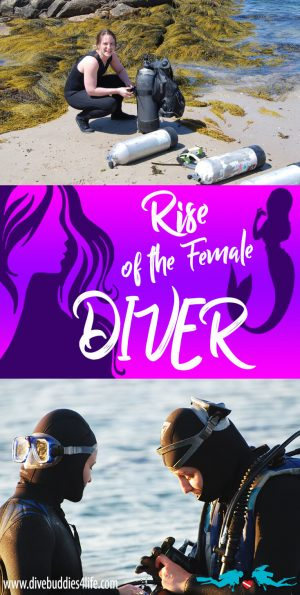 Rise Of The Female Diver Pinterest