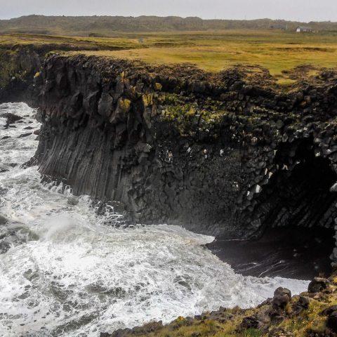 Rugged Iceland Coastline