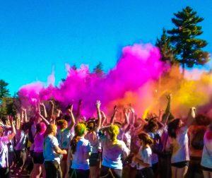 Run or Dye Colours