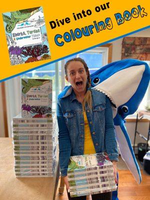 Sharks, Turtles & Underwater Things Sidebar Ad