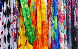 Authentic Scarves from Cuba