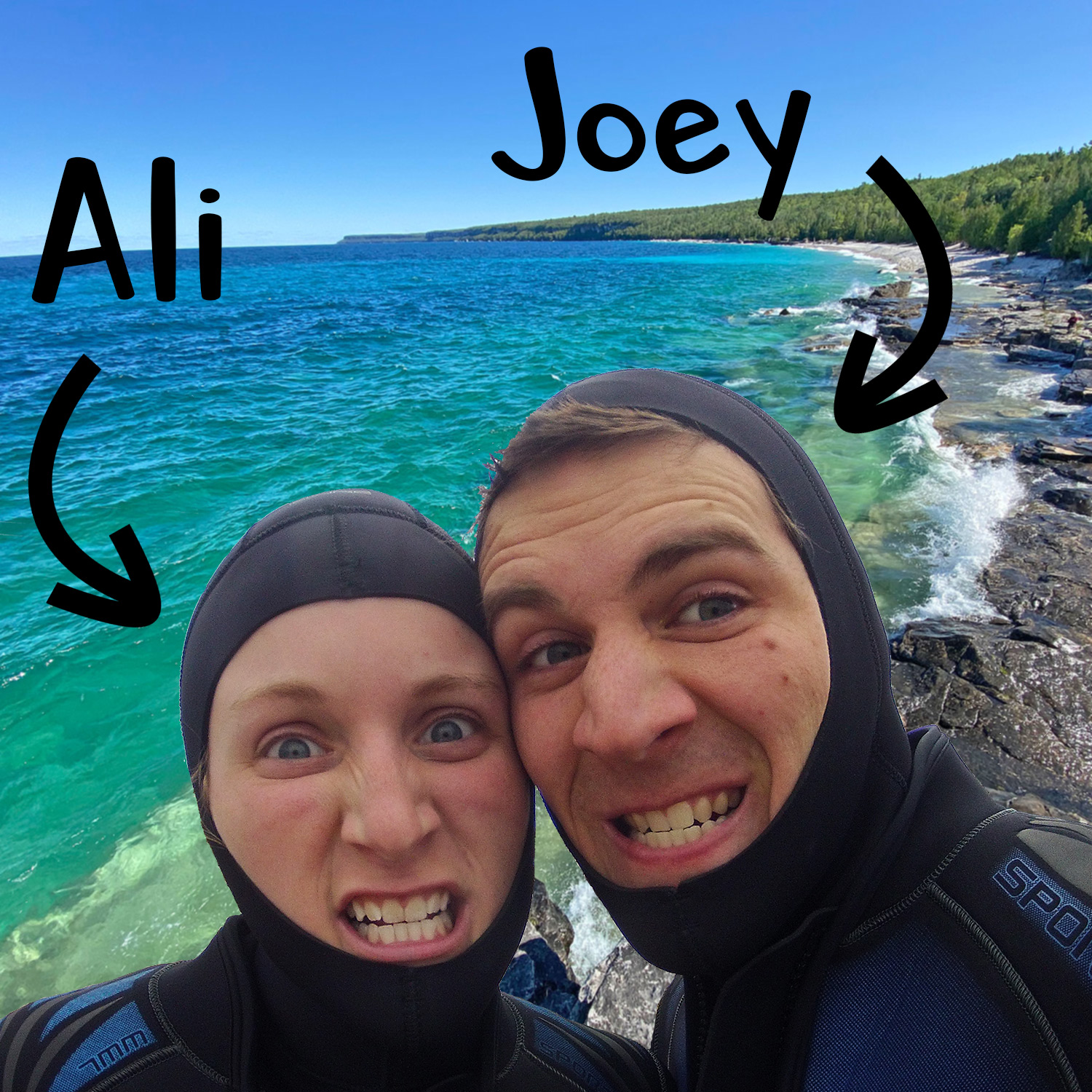 Scuba Buddies And Podcast Hosts Joey And Ali Postma