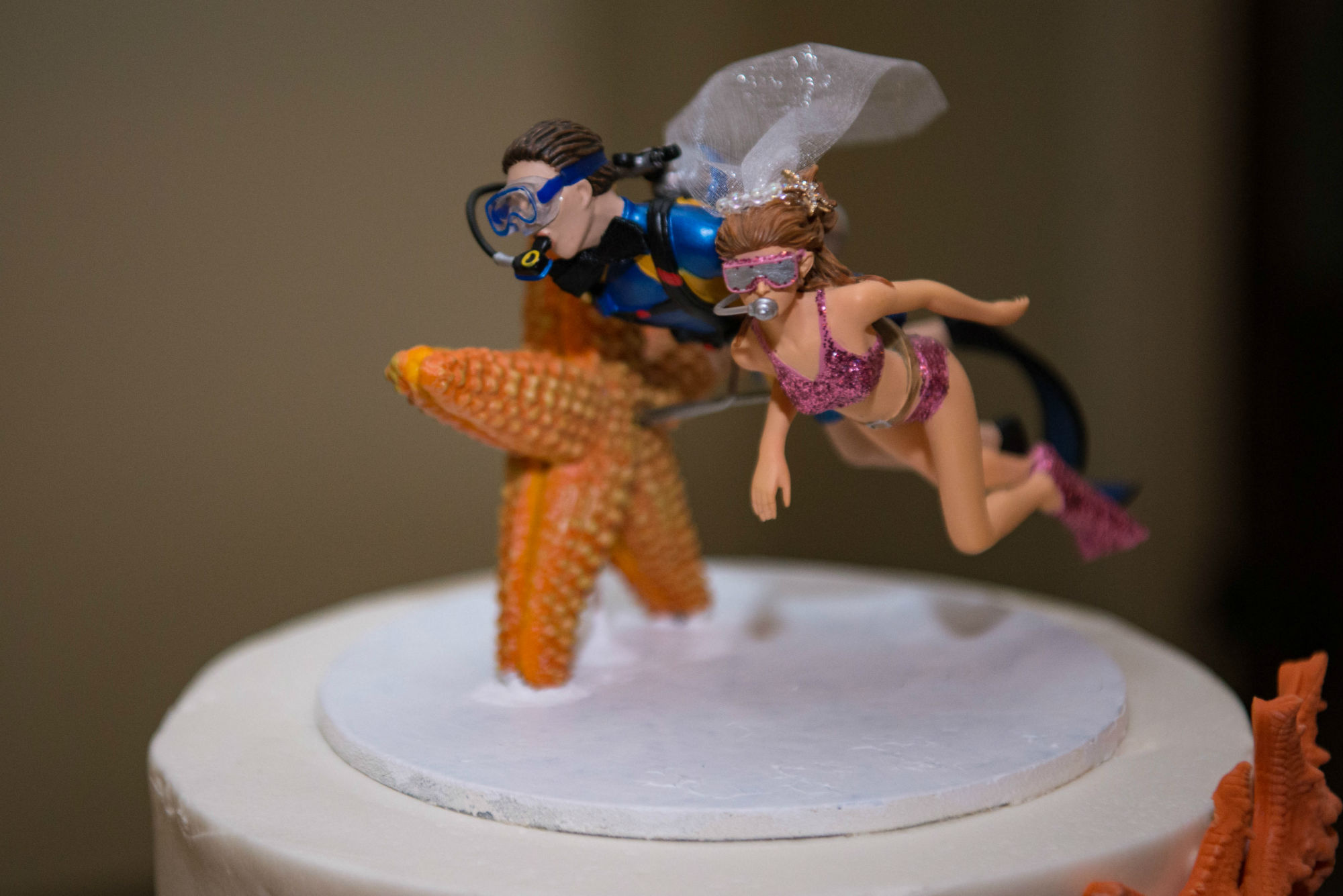 Scuba Diver Cake Toppers