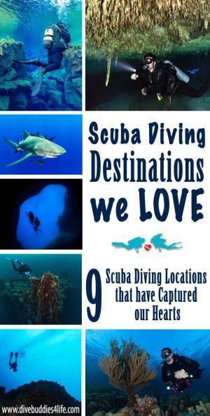 Scuba Diving Destinations We Love
