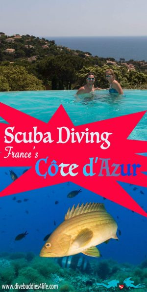 Scuba Diving France's Côte D'Azure, Europe