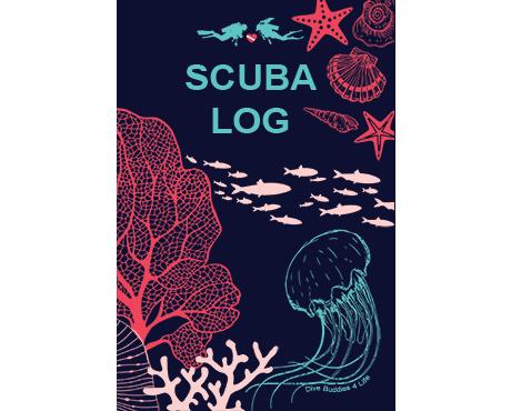 Dive Buddies Scuba Diving Logbook