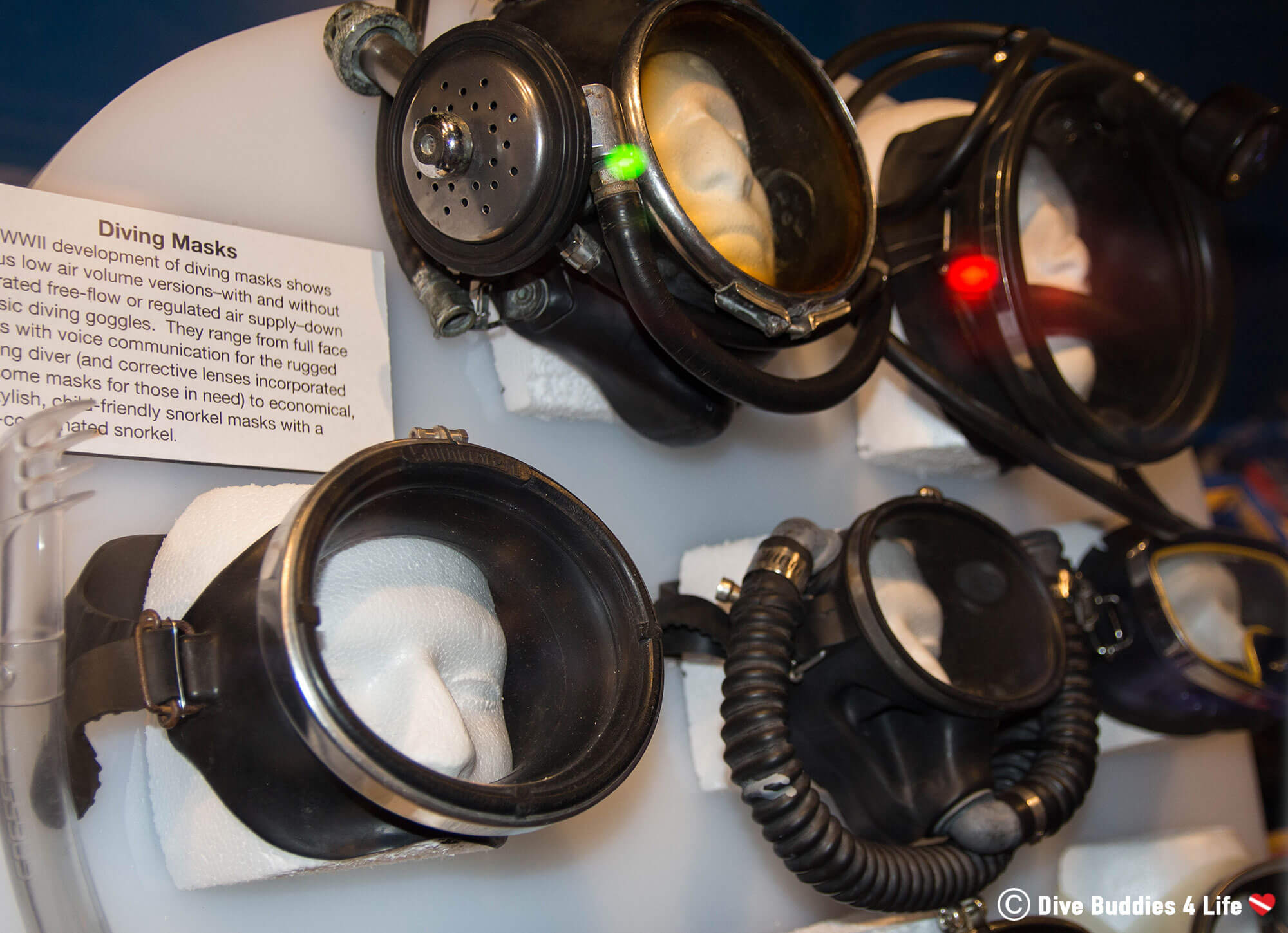 Scuba Diving Masks Over The Years In Islamorada, Florida