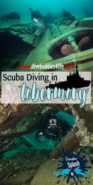 Scuba Diving In Tobermory, Ontario, Canada