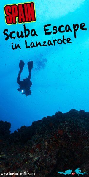 Scuba Escape In Lanzarote, Canary Islands, Spain Pinterest