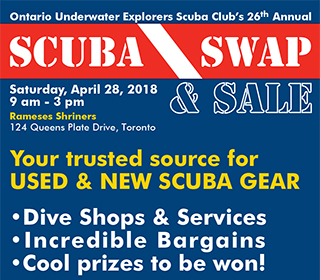 2018 Scuba Swap Flyer Press Release Image