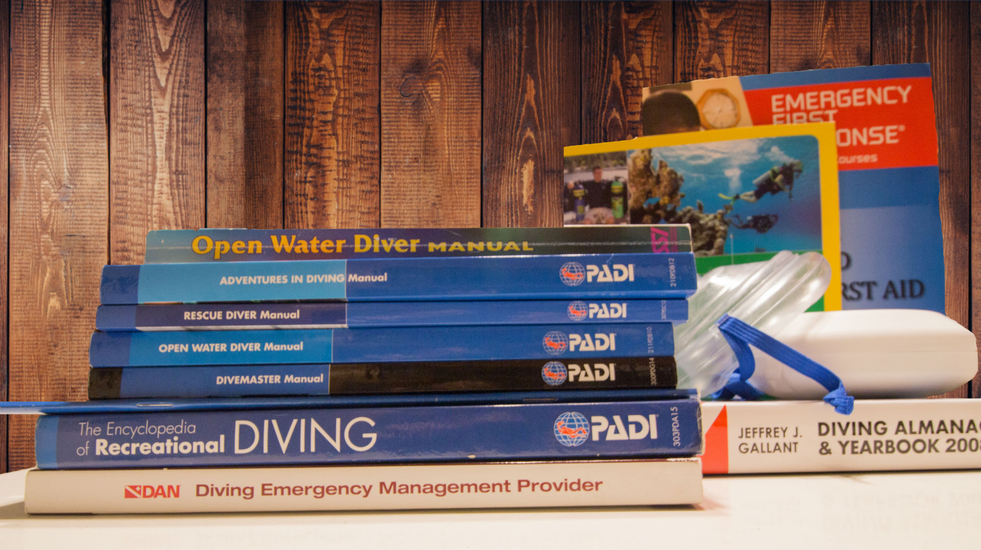 A Collection of the Divemaster Course Manuals