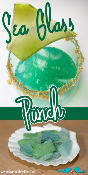 Sea Glass Punch Drink Creation
