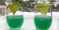 Sea Glass Punch Glasses Ready To Drink