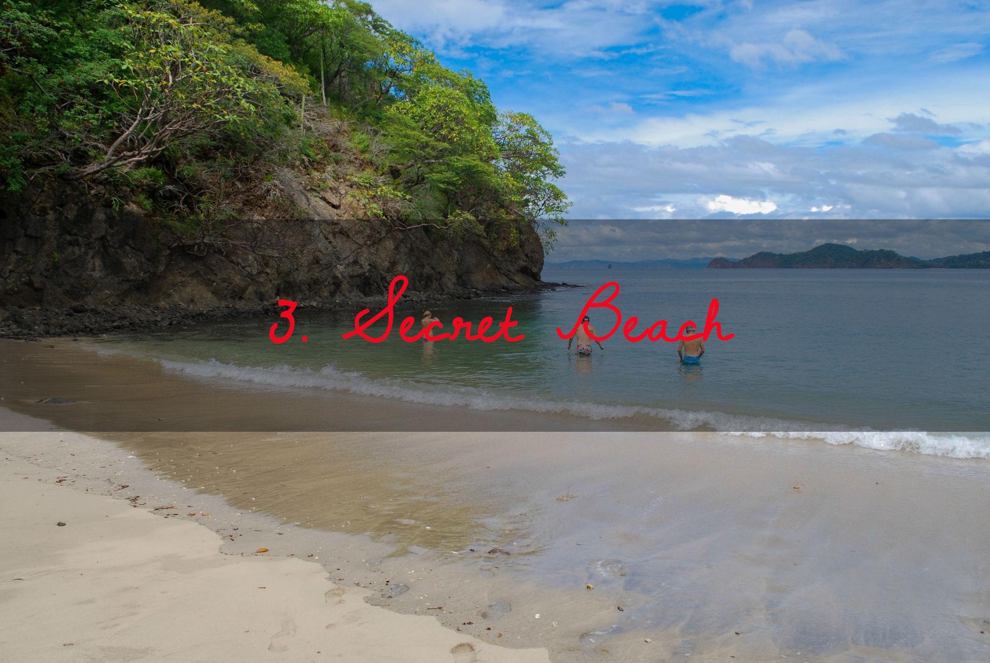 Snorkeling Secret Beach
