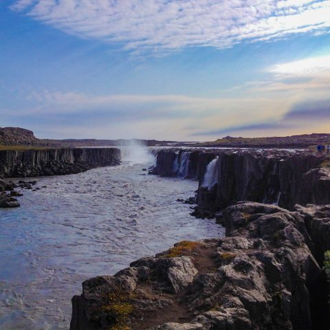 Northern Iceland's Selfoss Waterfall
