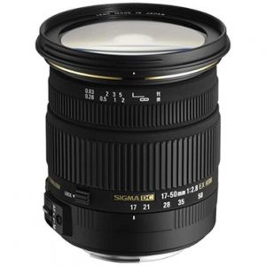Sigma Lens Scuba Shop Product