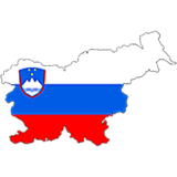 Slovenia Country Flag And Shape