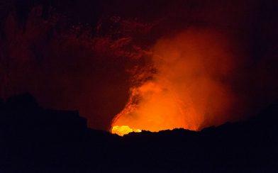 Small Glimpse of the Lava