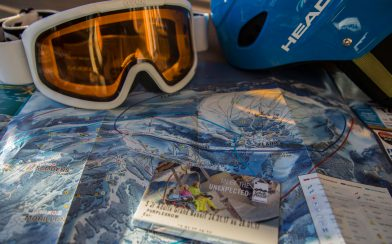 Snowboarding Stuff And A Flaine Map