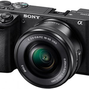 Sony Camera and Lens Scuba Shop Product